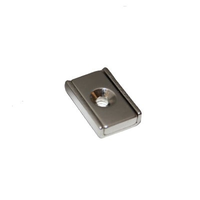 Neodymleiste 20x13x5 mm mit Senkung
