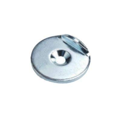 Metallscheibe 27 mm mit Senkung und Haltekante