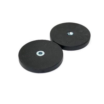 Magnetsystem gummiummantelt 43 mm mit Senkung