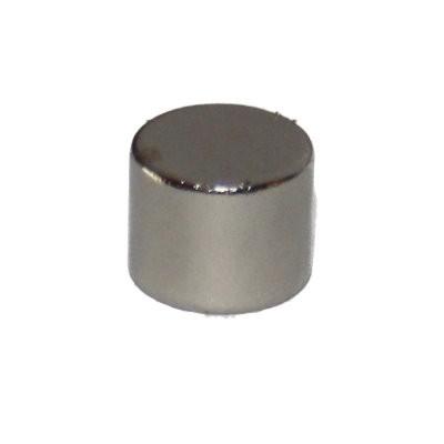 Scheibenmagnet 10x8 mm SmCo vernickelt