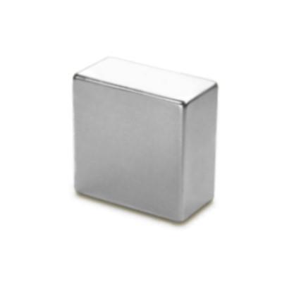 Quadermagnet 25,4x25,4x12,7 mm N42 Nickel