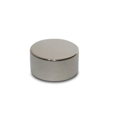 Scheibenmagnet 15x8 mm N42 Nickel