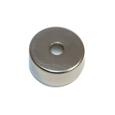 Ringmagnet 20x5x10 mm N42 Nickel