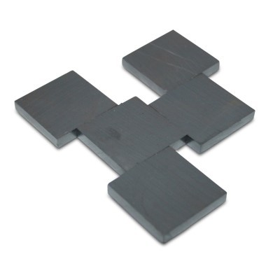 Quadermagnet 30x30x5 mm Y35