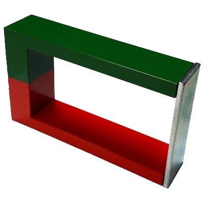 Hufeisen 130 mm Al5 rot-grün