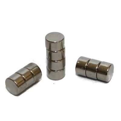 Scheibenmagnet 5x3 mm N45 Nickel