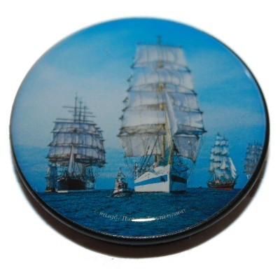 Verschenkmagnet Segelschiffe