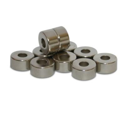 Ringmagnet 10x4x5 mm N42 Nickel