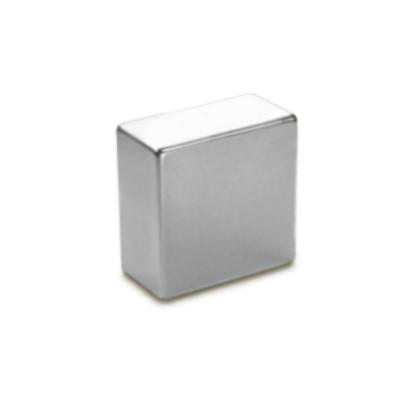 Quadermagnet 20x20x10 mm N42 Nickel