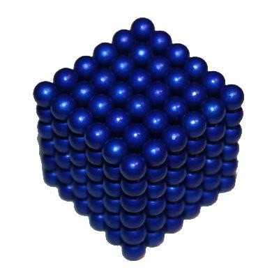 216 Kugelmagnete 5 mm blau zum Toppreis