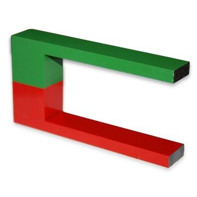 Hufeisen 115 mm Al5 rot-grün