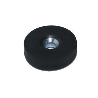 Magnetsystem gummiummantelt 22 mm mit Senkung