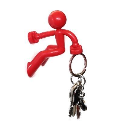 Klettermaxe: Schlüsselhalter rot