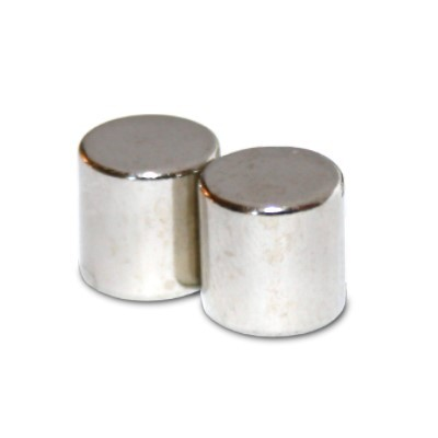 Stabmagnet 10x10 mm N48 Nickel