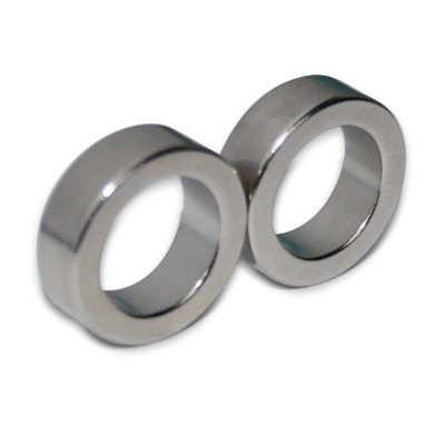 Ringmagnet 19x13x6 mm N42 Nickel