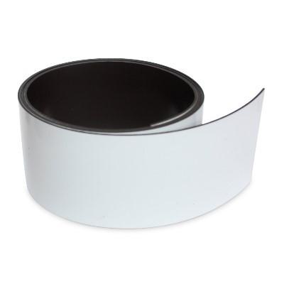 Magnetband 50 mm weiß