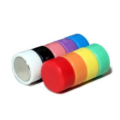 10 Kunststoffmagnete 10 mm Neodym, 9 Farben wählbar