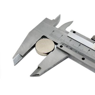Scheibenmagnet 18x4 mm N42 Nickel