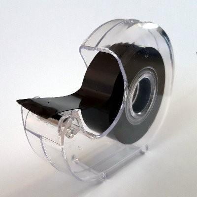 Klebestreifen aus Magnetfolie schwarz 19 mm