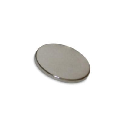Scheibenmagnet 25x2 mm N42 Nickel