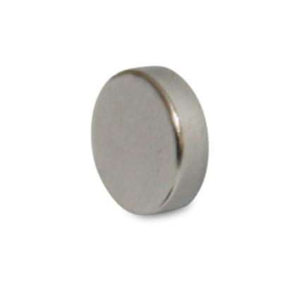 Scheibenmagnet 25x5 mm N42 Nickel