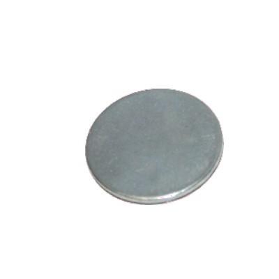 Metallscheibe 30 mm selbstklebend verzinkt