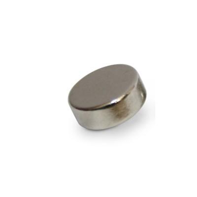 Scheibenmagnet 12x5 mm N42 Nickel
