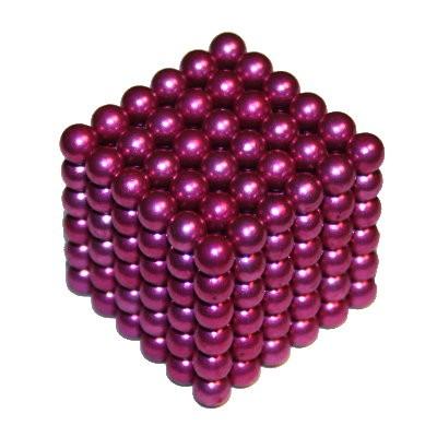 216 Kugelmagnete 5 mm pink zum Toppreis
