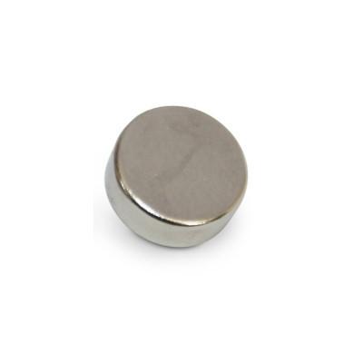 Scheibenmagnet 12x6 mm N45 Nickel
