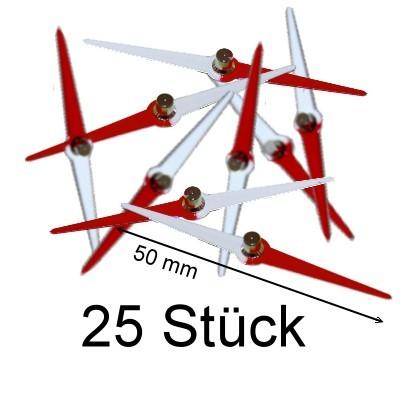 25 Kompassnadeln 50 mm