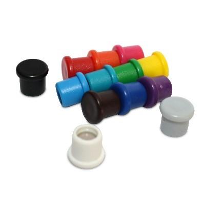 Kunststoffmagnet 10 mm Neodym in 13 Farben