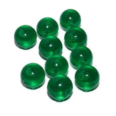 """10 """"Bubbles"""": Acrylkugeln mit Neodymmagnet 16 mm grün"""