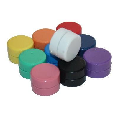 Kunststoffmagnet 30 mm Ferrit, 10 Farben wählbar