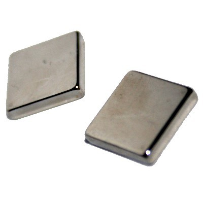 Quadermagnet 10x10x2 mm N52 Nickel