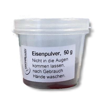 Eisenpulver, 50 g in Schüttdose