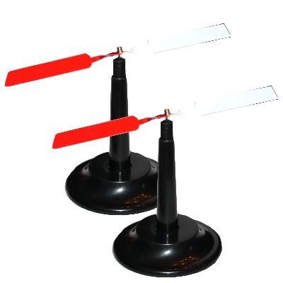 2 Kompassnadeln 140 mm mit Halterungen