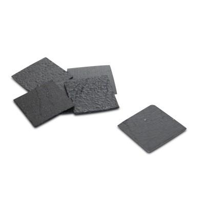 Pyrolytisches Graphit, 12x12 mm geschliffen