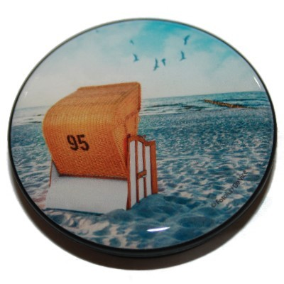 Verschenkmagnet Strandkorb