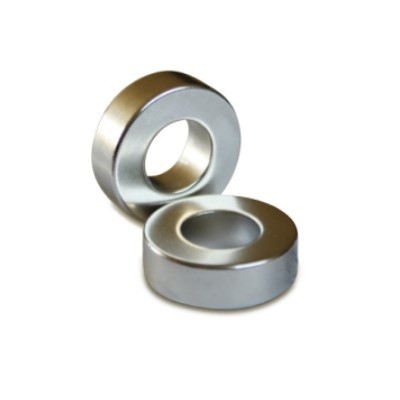 Ringmagnet 19x9,5x6 mm N42 Nickel