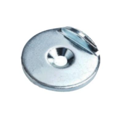 Metallscheibe 34 mm mit Senkung und Haltekante