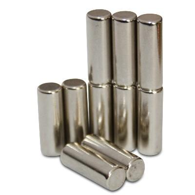 Stabmagnet 5x13,96 mm N45 Nickel