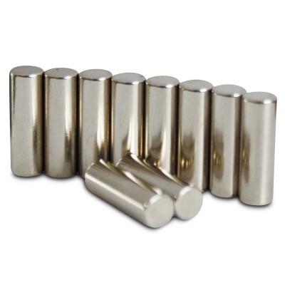Stabmagnet 4x12,5 mm N42 Nickel